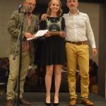w IGI Prize Jessica Fox with Wayne Hemingway & Pascal Siellet